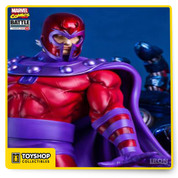 Marvel comics: The statue Magneto vs Sentinel was developed by the Brazilian enterprise Iron Studios and he presents total delicacy in the painting, details and a totally safe packing against damages. The Magneto comes with loyal reference his comic for the Marvel and leaves the eyes of anyone fan shining