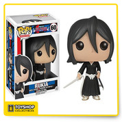 Isn't this Soul Reaper just adorable? The Bleach Rukia Pop! Vinyl Figure features your favorite female Soul Reaper from the popular anime! Standing about 3 3/4-inches tall, this figure is packaged in a window display box.