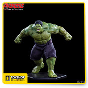 Avengers Age of Ultron: Hulk 1/10 Art Scale from Iron Studios. Hand Painted in Polystone measures nearly 8 inches .Limited Edition