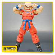 Klilyn from Dragon Ball Z master piece hands and interchangeable faces, don't miss this unique figure from manufacturer Bandai