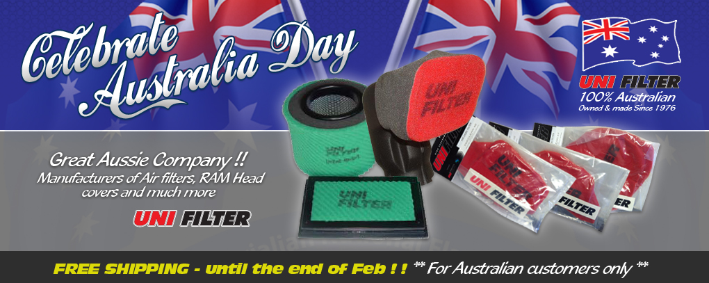 Celebrate Australia Day with Western Filters and Uni Filter !!