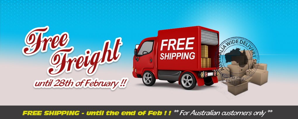 Western Filters is offering Free Freight !!! Until the end of February !!