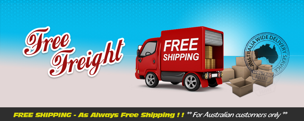 Western Filters is offering Free Freight as always !!