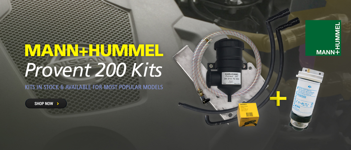 Vehicle Specific Mann Provent Kits