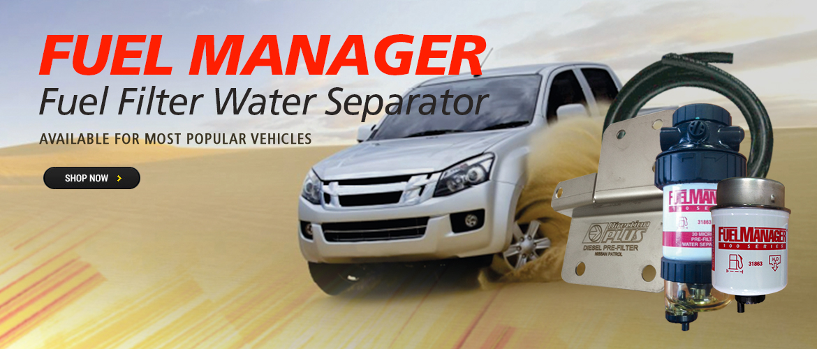 Fuel Manager Fuel Filter Water Separator Kits