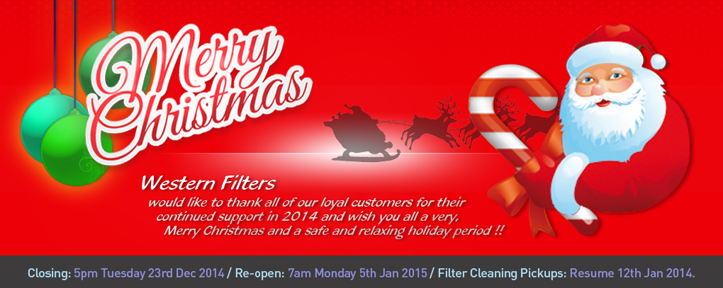 Western Filters wishes a Merry Christmas to all !!!