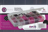 Options plastic organizer, 18 compartments, label