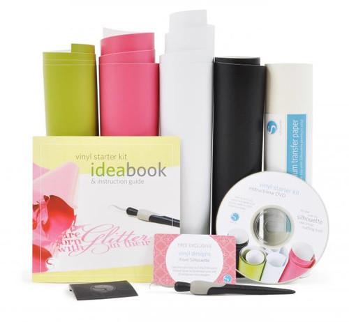 Silhouette vinyl starter kit contents