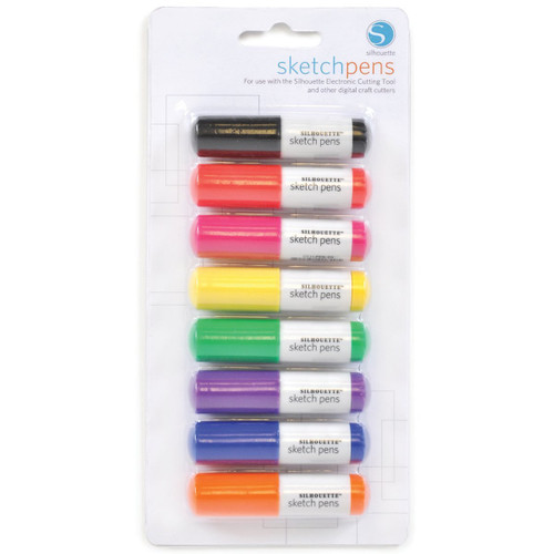 Silhouette Sketch Pen Basics 8-Pack