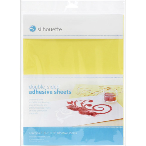 Silhouette Double Sided Adhesive Paper