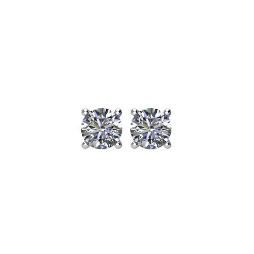 0.25 ct tw Round Diamond Stud Earrings