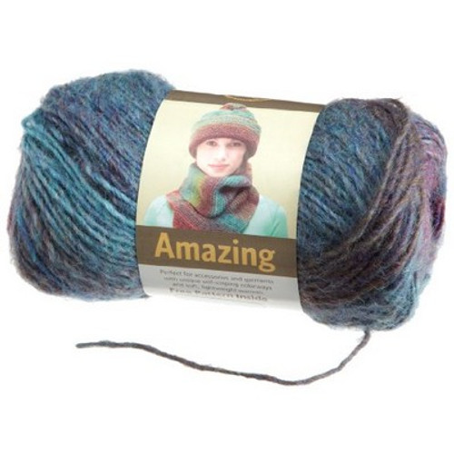 Lion Brand Yarn Amazing Yarn, Glacier Bay