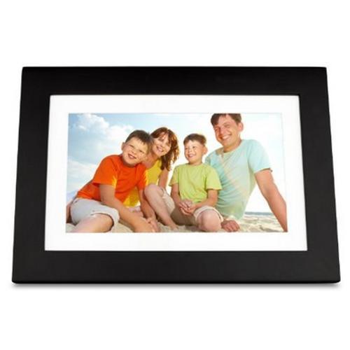 ViewSonic 10.1-Inch Digital Photo Frame High Resolution 1024x600 (Black)