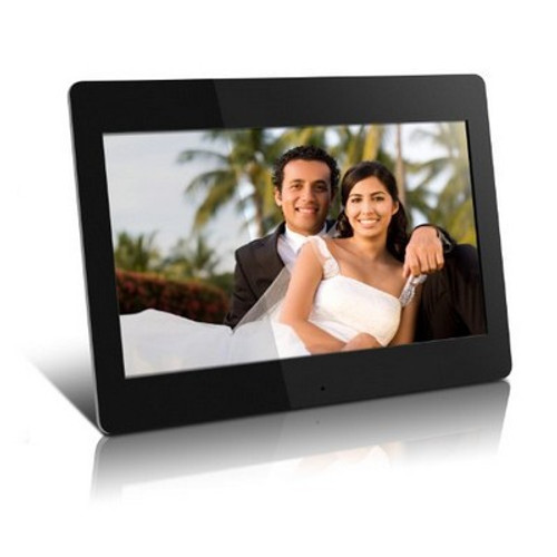 High Resolution 14 inch  Digital Photo Frame w/512MB Built-in Memory and Remote (1366 x 768)