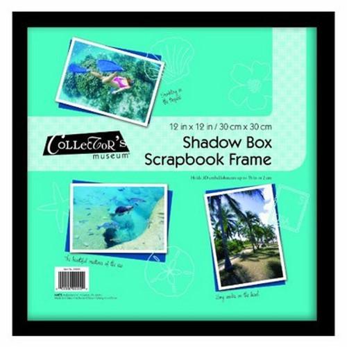 MCS 12x12 Scrapbook Shadow Box in Black
