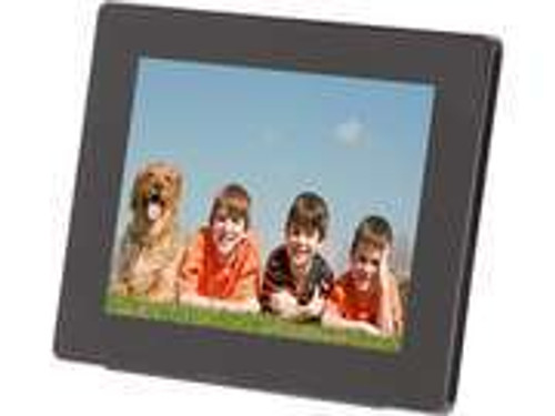 "Aluratek ADMPF108F 8"" 800 x 600 Digital Photo Frame with 512MB Built-in Memory"