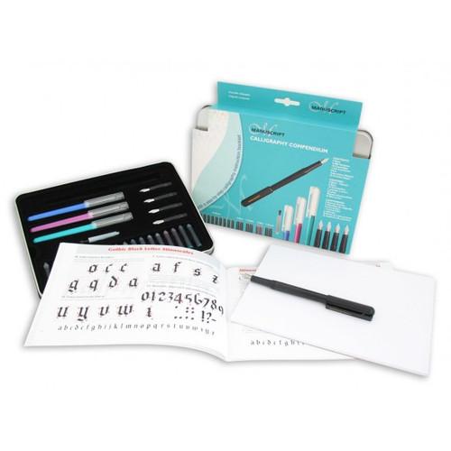 Manuscript Calligraphy Compendium Pen Set