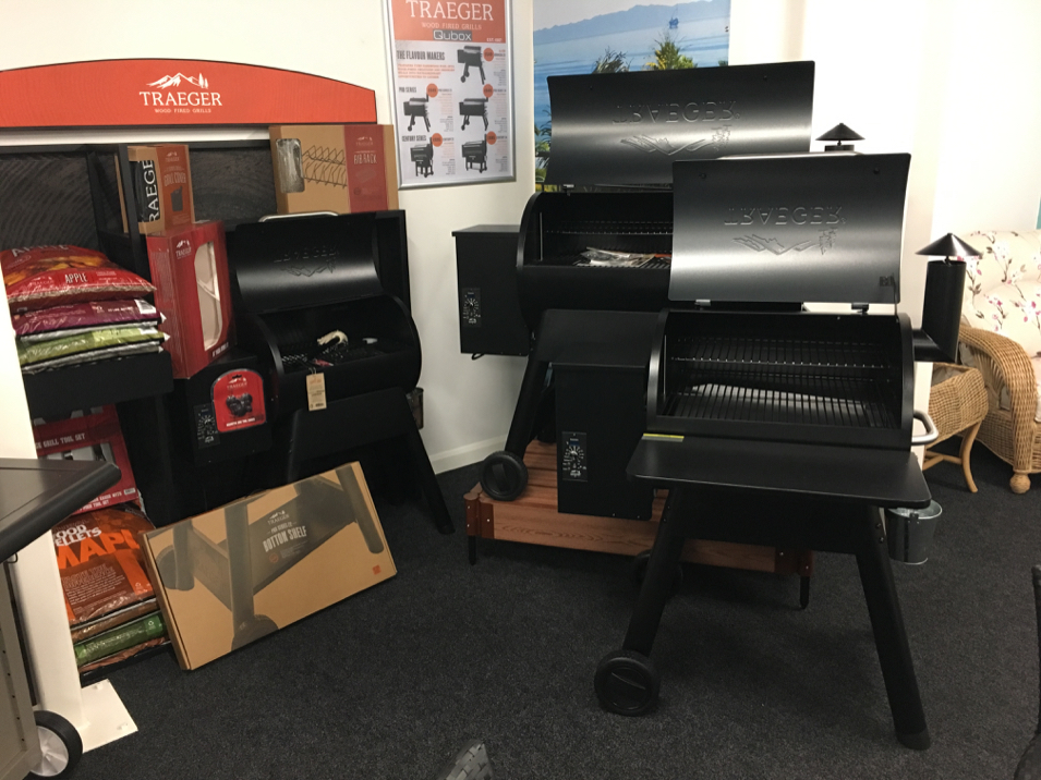 Qubox Showroom Traeger Smoker Grills