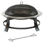 Lifestyle Prima Stainless Steel Fire Bowl (LFS702)
