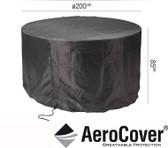 Aerocover Protective Cover for Round Garden Set 200 x 85Hcm (18-C-7912)