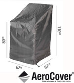 Aerocover Protective Cover for Stackable Chairs 67 x 67 x 80/110cm