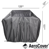 Aerocover Protective Cover for Gas BBQ 126 x 52 x 101cm (18-C-7850)