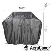 Aerocover Protective Cover for Gas BBQ 148 x 61 x 110cm (18-C-7854)