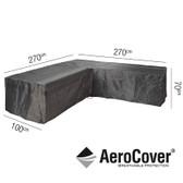 Aerocover Protective Cover for Garden L-Shape Set 270 x 100 x 70cm (18-C-7942)
