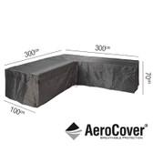 Aerocover Protective Cover for Garden L-Shape Set 300 x 100 x 70cm (18-C-7943)