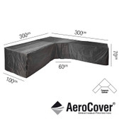 Aerocover Protective Cover for Trapeeze Lounge Set 300 x 100 x 70cm (18-C-7952)