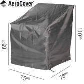 Aerocover Protective Cover for High Back Lounge Chair 75 x 78 x 110cm (18-C-7966)