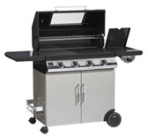 Beefeater Discovery 1100E 4 Burner Gas BBQ With Side Burner (47842)