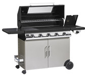 Beefeater Discovery 1100E 5 Burner Gas BBQ With Side Burner (47852)