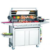 Beefeater Signature S3000S 5 Burner Gas BBQ With Side Burner (19650)