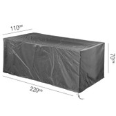 Aerocover Protective Cover for Garden Table 220 x 110 x 70cm (18-C-7925)