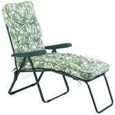Glendale Deluxe Garden Lounger Chair Cotswold Leaf (GL0127)