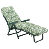 Glendale Deluxe Garden Sun Bed Lounger Cotswold Leaf (GL0152)