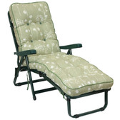 Deluxe Garden Sun Bed Lounger Renaissance Sage (GL1527) from Glendale