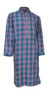 Blue check nightshirt
