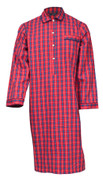 Red check nightshirt
