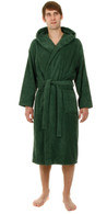 John Christian Hooded Bathrobe - Green