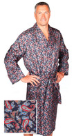 Paisley silk dressing gown