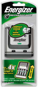 Energizer e2 slider charger for AA & AAA Rechargeable batteries