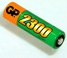 GP 2300 mAh NiMH AA Battery