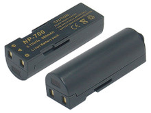 Li-ion replacement battery for Konica Minolta NP-700 and Sanyo DB-L30 - 3.7 660mAh