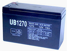 Sealed Lead Acid Battery - UB1270 - 7Ah 12v