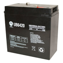 Sealed Lead Acid Battery - UB6420 - 42Ah 6v