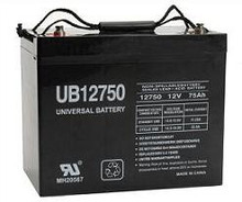 Sealed Lead Acid Battery - UB12750 (Group 24) - Terminal I4 12v 75Ah