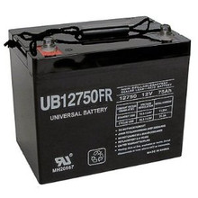 Sealed Lead Acid Battery UB12750FR (Flame Retardant) I4 12v 75Ah