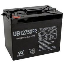 Sealed Lead Acid Battery UB12750FR (Flame Retardant) I4 12v 75Ah